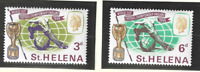 St. Helena Stamps Scott #188 To 189, Mint Never Hinged