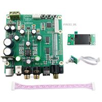 ES9038Q2M DAC Board Decoder + Display Screen Support IIS DSD Optic Fiber Coaxial
