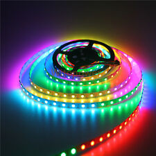 10PC 5V Addressable SK6812 5050 RGB LED Strip 5M 300 SMD Light P20 White PCB 50M