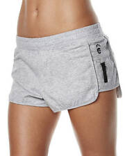 "NEW + TAG BILLABONG LADIES (8) ""CHANGE OF PACE"" SPORTS JOGGER ACTIVE SHORTS GREY"