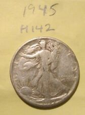 H142D0618 - Silver Walking Liberty Half Dollar 1945 - Free Shipping