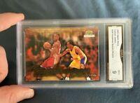 2003 2004 Lebron James Rookie #39 Freshman Season Koby Bryant GMA 9 (PSA, SGC)