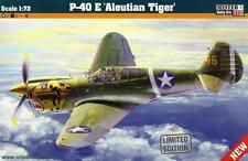 P 40 E KITTYHAWK ALEUTIAN TIGER (USAAC MARKINGS) 1/72 MASTERCRAFT BRAND NEW