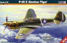 P 40 e Kittyhawk marcas de las islas Aleutianas Tigre (usaac) 1/72 Mastercraft Nuevo