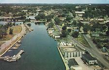 Aerial View Yacht Club BELLEVILLE Ontario Canada Rideau Air Photos Postcard