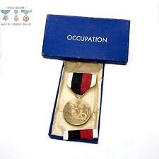 WWII US NAVY OCCUPATION SERVICE MEDAL BAR US MINT BOX ORIGINAL WW2