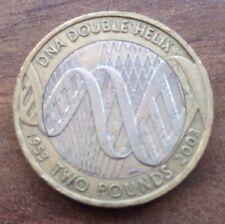 DNA 2 £ deux livres Pièce commémorative 2003 - 50TH ANNIVERSAIRE de la découverte de l'ADN