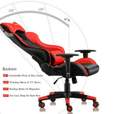 Soho Computer Chair Executive Recliner Racing Adjustable Gaming Faux Leather