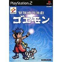 Used PS2 Bouken Jidai Katsugeki: Goemon Japan Import (Free Shipping)