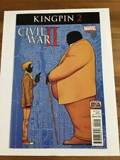 Civil War Ii Kingpin #2 Marvel Comics Comic Book NM