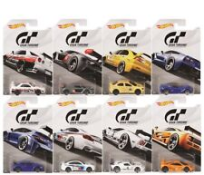 "Hot Wheels 2018 Gran Turismo ""The Real Driving Simulator"" Set of 8 Die-Cast cars"