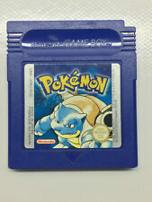 Pokemon Blue Nintendo Gameboy Game Original Cartridge New Battery Save Works