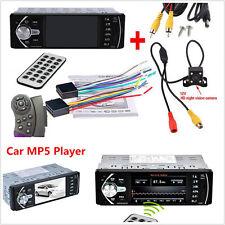 "4.1"" Car Bluetooth Mp5 Mp3 Player Stereo Video Fm Radio Remote +Rear View Camera"