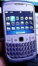 BlackBerry Curve 8520 Violeta (Desbloqueado) Smartphone condición Inmaculada Sin Sim