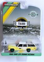 1988 Ford LTD Crown Victoria Rosarito-Tijuana Taxi 1/64 Greenlight 30002 Chase