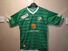 Umbro REPUBLIC OF IRELAND SHIRT 2003/04 HOME large boy 30/34  77/79cm beautiful