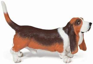 Papo Dog Basset Hound Animal Toy figure Replica 54012 NEW Free Shipping