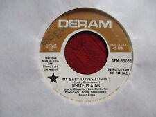 "7"" 45 tr/min White plais My baby loves épicer' / show me your main PROMO USA"