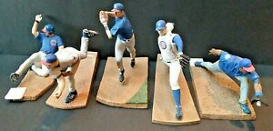 CHICAGO CUBS MLB 6 INCH MCFARLANE LOT OF 5