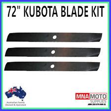 BLADE KIT SUIT SELECTED 72 INCH KUBOTA MOWERS OEM  76550-34330