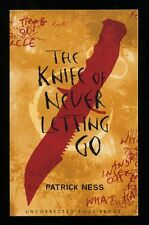 Patrick Ness - The Knife of Never Letting Go; SIGNED PROOF