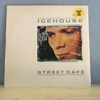 "ICEHOUSE Street Cafe 1983 UK 3-track 12"" vinyl single EXCELLENT CONDITION"