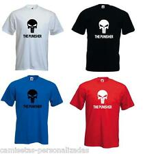 CAMISETA EL CASTIGADOR THE PUNISHER