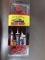 Little Red Cap  for caulk Tubes, glue bottles, etc....   #LRC.SCS    NEW