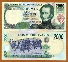 Venezuela, 2000 Bolivares, 1998, P-77b, UNC
