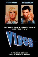 Vibes   - (DVD)  Cyndi Lauper,  Jeff Goldblum, Peter Falk  BRAND NEW