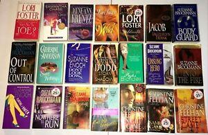 Lot 21 Contemporary Romance Book Brockman, Feehan, Foster, Enoch, Dodd, Krentz