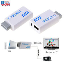 Wii To HDMI Adapter Converter 720p 1080p Jack 3.5mm Support 480i 480p 576i NTSC