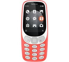 BRAND NEW NOKIA 3310 3G TA-1022 WARM RED UK MODEL SINGLE SIM FACTORY UNLOCKED