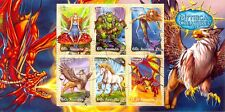 Australia-Mythical Creatures min sheet cto/f.used(Unicorn-Elves-Fairy-Dragon)