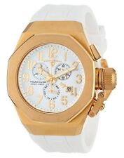 Swiss Legend 10542-YG-02-GA Mens Trimix Diver White Chronograph Watch NEW in Box