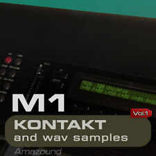 BEST OF KORG M1 for KONTAKT 208 NKI + 1704 WAV SAMPLES 24bit MAC PC MPC FL VOL 1