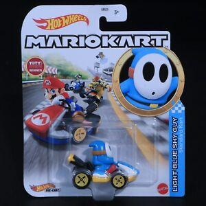 Hot Wheels - Mariokart - Light-Blue Shy Guy - Brand New