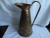 Vintage Copper Jug, Decorative, Kitchenalia, Height 12""