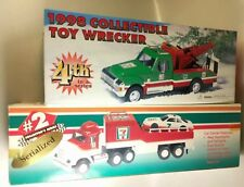 7- Eleven Diecast Toy Wrecker Tow Truck + Race Car Carrier #2 & #4 in a Series