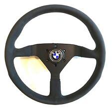 MOMO Monte Carlo Black Alcantara Steering Wheel PLUS HUB BMW E3 E9 320 2002 533