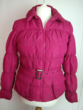 Dorothy Perkins size 12 pink lightweight padded puffer style coat