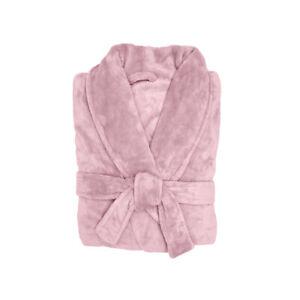Bambury Microplush Super Soft Unisex Bathrobe - Blush