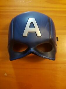 Captain America youth kids mask costume.