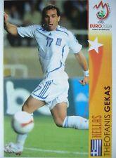 Panini 508 Theofanis Gekas Hellas UEFA Euro 2008 Austria - Switzerland