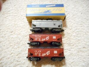 S SCALE AMERICAN FLYER #924, 2- #921 COAL CARS