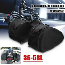 US 36-58L Universal Waterproof Motorcycle Bike Rear Luggage Saddle Bag