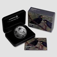 New Zealand - 2015 - Silver $5 Dollars Proof Coin- 1 OZ Huia Bird