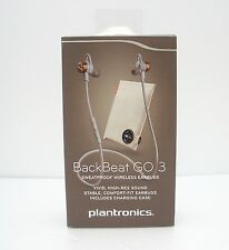 Plantronics BackBeat GO 3 Wireless Earbuds & Charging Case - Copper Orange