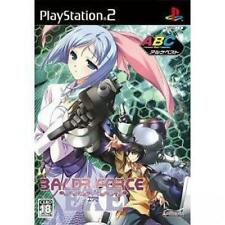 Used PS2 Baldr Force EXE Alchemist  SONY PLAYSTATION JAPAN IMPORT