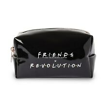 REVOLUTION MAKEUP X FRIENDS BLACK MAKEUP BAG   NEW WITH TAGS